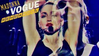 Madonna - Vogue (Rehearsal - Blond Ambition Tour 1990)