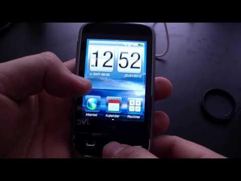 HTC Smart English Hands On