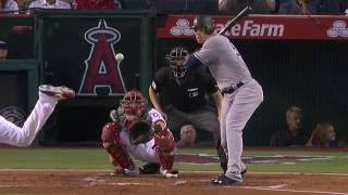 August 19, 2016-New York Yankees vs. Los Angeles Angels