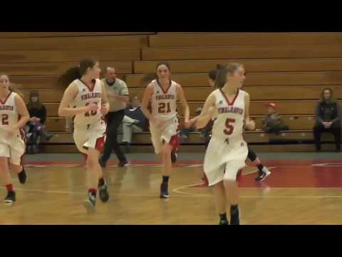 Vinalhaven vs. Temple Academy Class D South Girls Basketball Semifinal