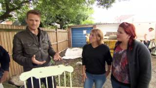 Ben Plans To Upcycle An Old Rocking Chair - Peter Andre's 60 Minute Makeover