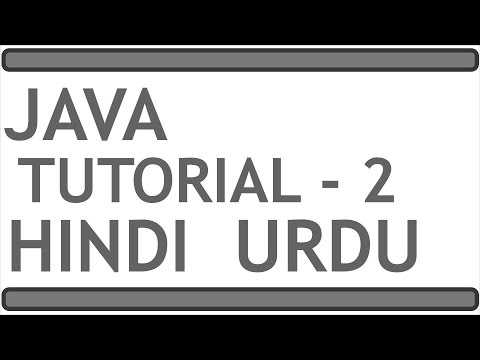 JAVA PROGRAMMING TUTORIAL 2 (HINDI   URDU)    Methods - Program Structure - Comments