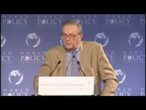 Jacques Mistral - Nov 1, 09 - Session 6 - Introduction - 2/2