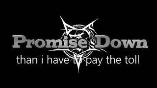 "Promise Down   ""LET IT OUT""   lyrics video"