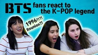 American BTS fans react to the oldest K-POP boy band's reunion concert.(H.O.T reaction)