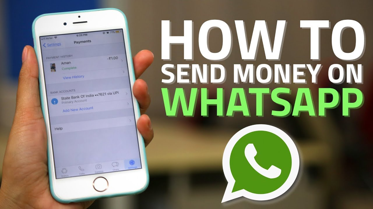 How To Use Whatsapp Payments Send Your Contacts Money Through Wiring Works