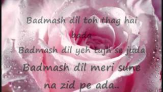 Badmaash Dil---singham--full video song...uploaded by Azaan Ali