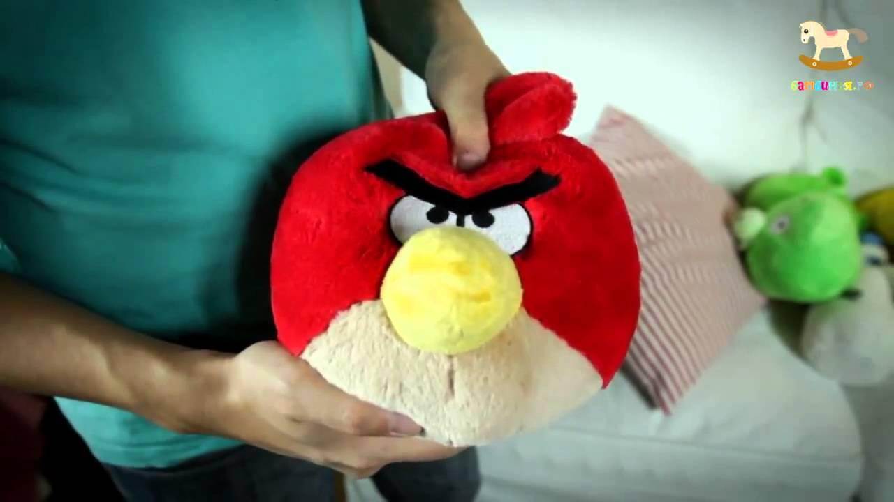 Мягкие игрушки Злые птицы Plush toys Angry Birds - YouTube
