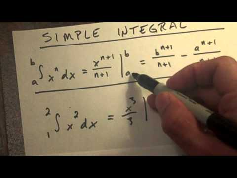 How to solve a simple integral