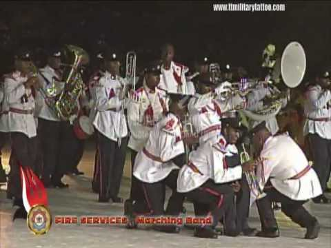 Fire Services Marching Band Tattoo2012