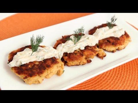 Salmon Cakes Recipe - Laura Vitale - Laura In The Kitchen Episode 573