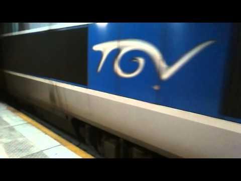 Tgv Sud Est Depart Lille Europe Destination Paris Nord