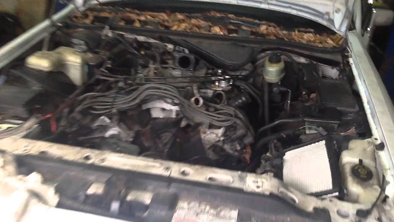 Lincoln Town Car Engine Swap