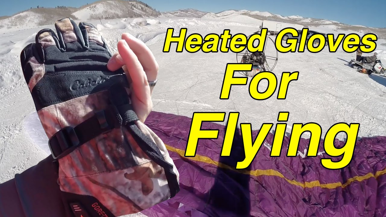 Cabelas Heated Gloves Review - Paramotor Winter Flying