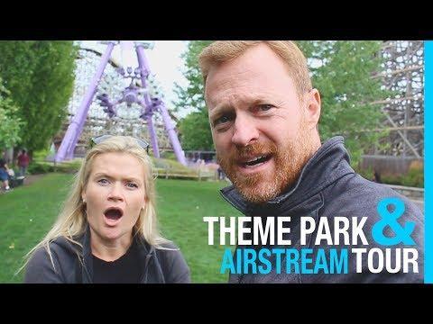 SILVERWOOD THEME PARK & AIRSTREAM RV TOUR
