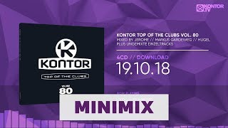 Various artists – kontor top of the clubs vol. 80 +++ germany's no. 1 dance compilation feat. 69 club hits mixed by jerome, markus gardeweg & hugel plus ...