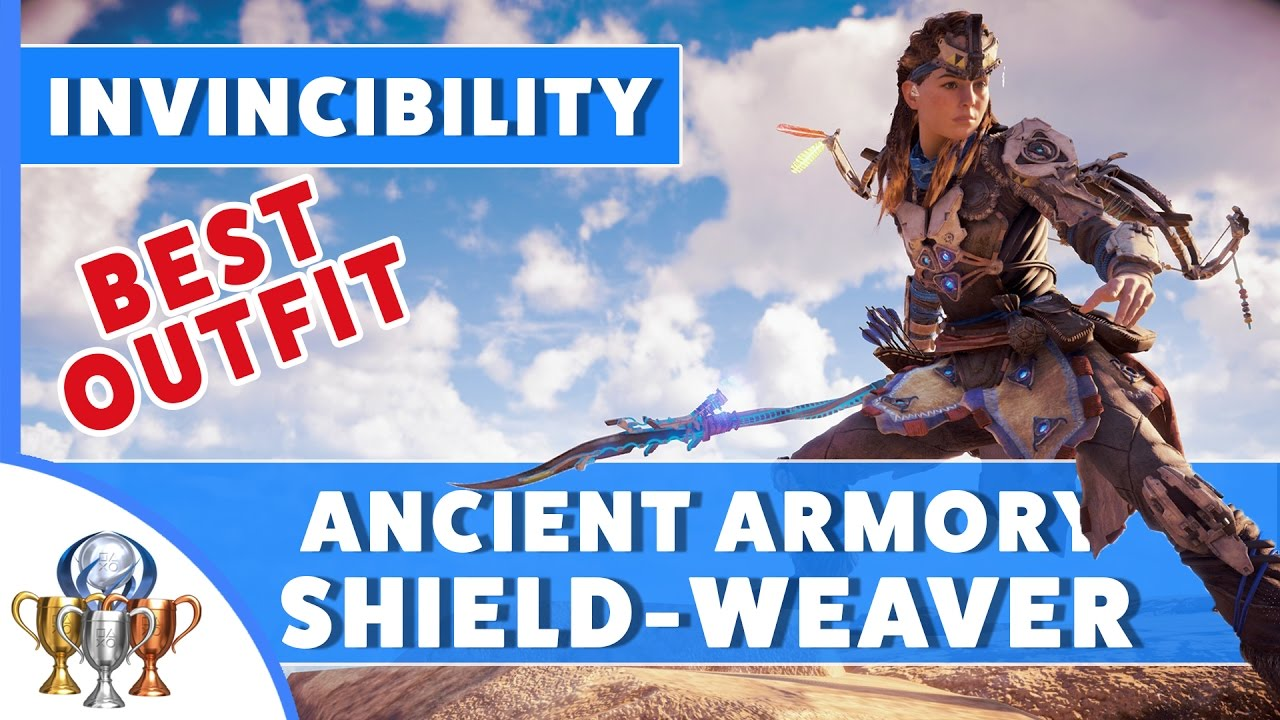 Download Horizon Zero Dawn Ancient Armory Quest - Shield Weaver Outfit (Power Cell Locations and Dial Puzzle)