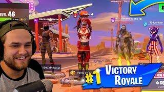 MINA FÖLJARE Hjälper Mig Till Victory Royale I Fortnite!!