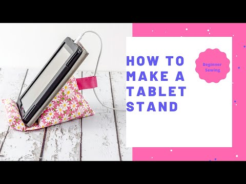 How to Make a Tablet Stand