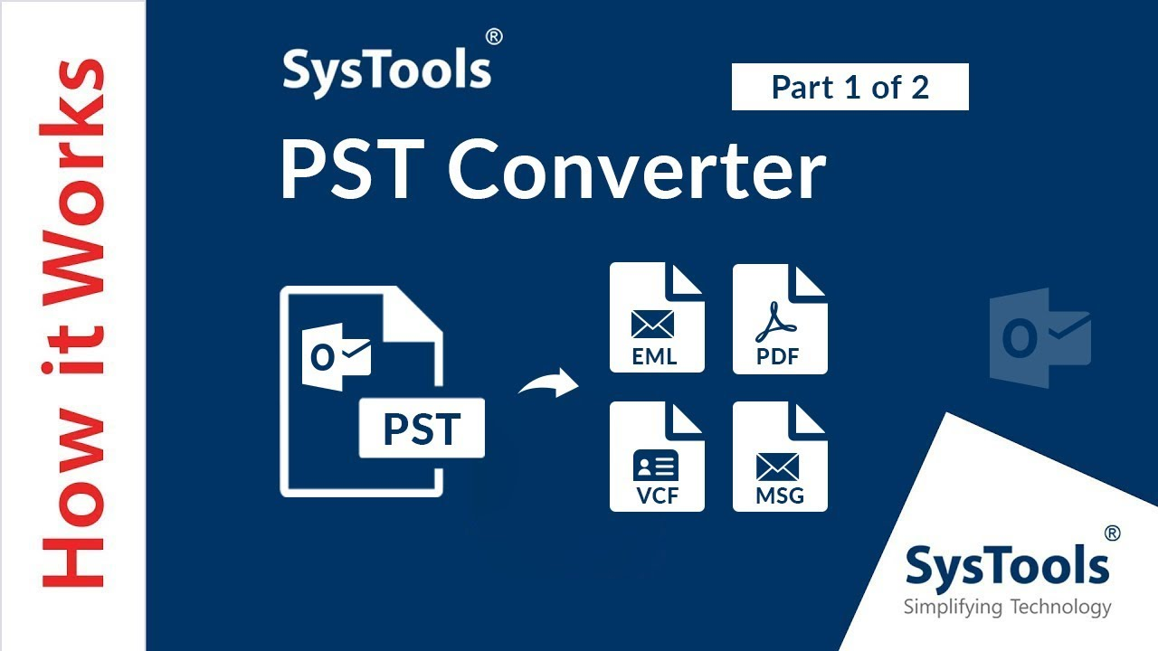PST Converter to Convert PST to EML for Mac & Win