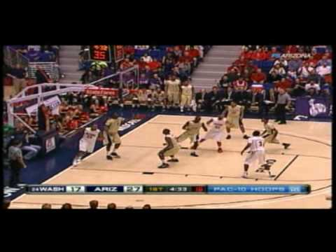 2009/2010 Arizona Basketball vs Washington Huskies