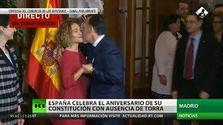 España conmemora el 41.º aniversario de su Constitución con ausencia de Quim Torra