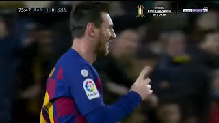 Messi Scores First Goal of The Setien Era