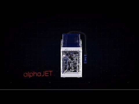 alphaJET into Continuous InkJET System | Funktion Australia