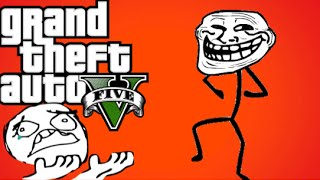 GTA 5 Trolling - Gamers Rage Hard!