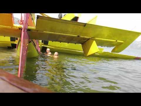 Skadar Lake Plane Crash Pilot Rescue