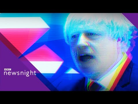 'Drop Boris Johnson over burka row,' says Tory peer - BBC Newsnight
