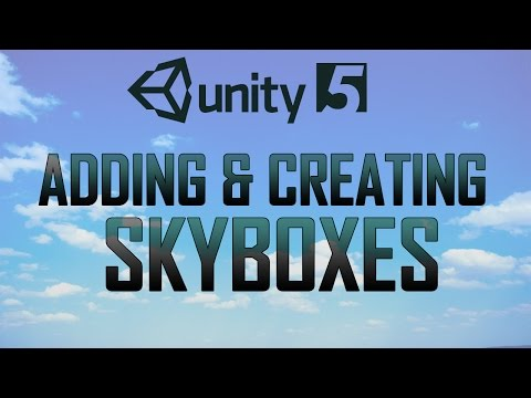 Skybox creation In unity 5