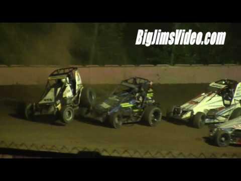 Linda's Speedway SpeedSTR Flips and Crashes 9-23-16