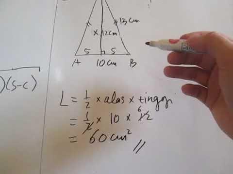 Formula Kira Luas Trapezium - Autocad