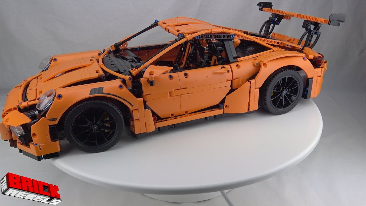 lego technic 42056 porsche 911 gt3 rs speed build youtube. Black Bedroom Furniture Sets. Home Design Ideas