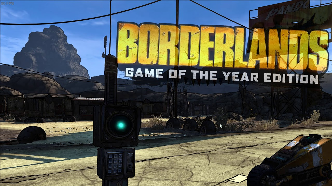 Borderlands GOTY Enhanced - temp fix for reverting hertz