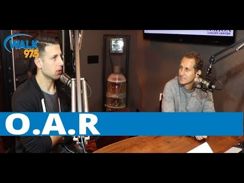 Jamie speaks with O.A.R. in The Studio at The Paramount!