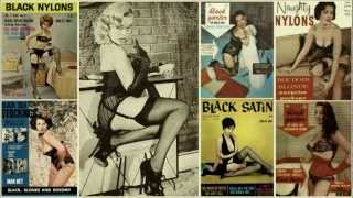 Repeat youtube video VINTAGE GIRLIE MAGAZINES - Music by The CRAMPS