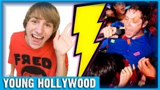 OK Go & Fred Figglehorn Prep for Cage Match!