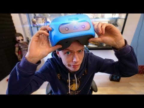 Vive Focus Standalone VR Headset Unboxing!