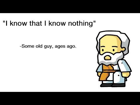tl;dr Philosophy: The Socratic Paradox