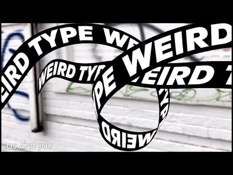 Weird Type AR App Review