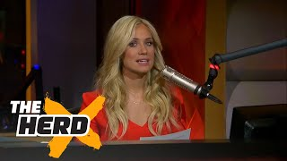 Kristine Leahy coddled by 3 black males for attacking Lavar Ball