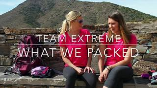 #TeamExtreme - What We Packed for the Amazing Race