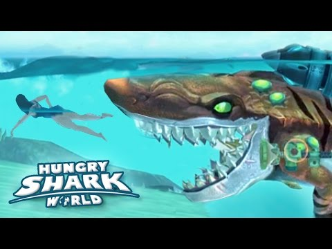 Atomic Sharks New Record!!! - Hungry Shark World | Ep 45 HD
