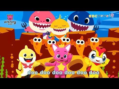 【碰碰狐】Babyshark鯊魚兒歌|鯊魚家族|鯊魚一家|YOYO - YouTube