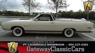 384-FTL 1969 Ford Ranchero