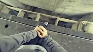 Паркур экстрим пробежка по Воробьевым горам