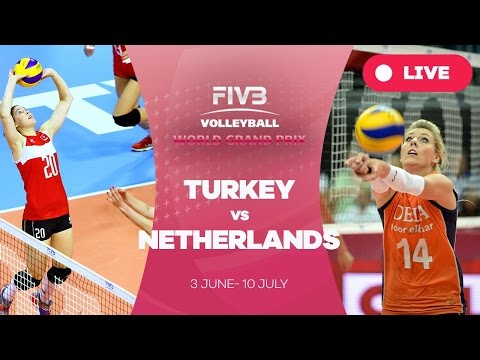 Turkey v Netherlands - Group 1: 2016 FIVB Volleyball World Grand Prix