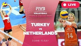 Turkey v Netherlands - Group 1: 2016 FIVB Volleyball World Grand Prix